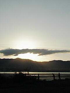 琵琶湖東岸 9月