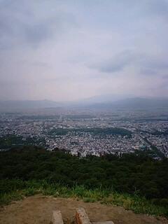 大文字山から。